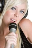 Person Singing Stock Images