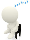 Person sleeping Royalty Free Stock Photography