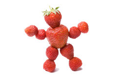 Person strawberry Stock Photo