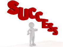 Person with success Royalty Free Stock Photos