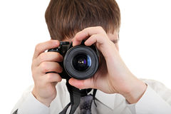Person Take a Picture with a Camera Stock Photos