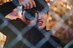 Person Taking Picture Royalty Free Stock Photo