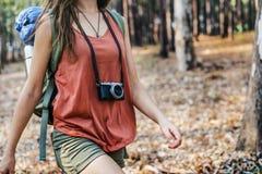 Person Traveler Travel Destination Concept royaltyfria bilder