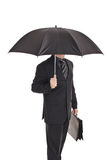 Person with an umbrella Royalty Free Stock Photo