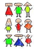 Person und Lack und Leute Stockbilder