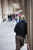 person waiting Royalty Free Stock Images