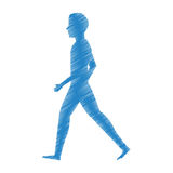person walking isolated icon Royalty Free Stock Photo