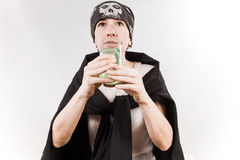 Person wearing bandana Stock Images