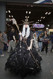Person wearing costume at NY Comic Con Royalty Free Stock Image