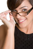 Person Wearing Glasses Stock Photos
