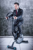 Person who keeps in shape. A sporty person who keeps in shape Stock Photo