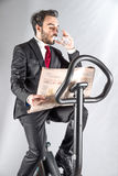 Person who keeps in shape. A sporty person who keeps in shape Royalty Free Stock Photo