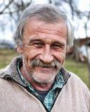 Persona anziana, ritratto fotografia stock libera da diritti