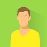 Persona casuale del ritratto maschio dell'avatar dell'icona di profilo Immagini Stock Libere da Diritti