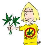 Persona dedita verde Immagini Stock Libere da Diritti