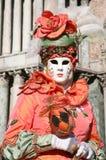 Persona del carnaval de Venecia Fotografía de archivo libre de regalías