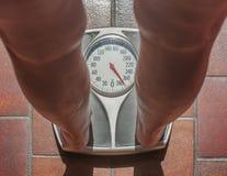 Persona di peso eccessivo Fotografia Stock