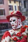 Persona disfrazada Foto de archivo libre de regalías