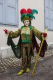 Persona disfrazada Fotografía de archivo libre de regalías