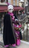 Persona disfrazada en Annecy Imagenes de archivo