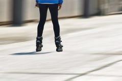 Persona en pcteres de ruedas Fotografía de archivo libre de regalías