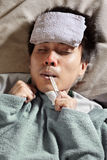 Persona enferma Fotografía de archivo libre de regalías