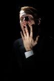 Persona molto terribile Fotografie Stock Libere da Diritti