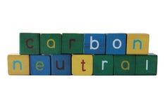 Persona neutrale del carbonio Fotografie Stock