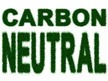 Persona neutrale del carbonio Fotografia Stock