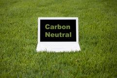 persona neutrale di calcolo del carbonio Fotografia Stock Libera da Diritti