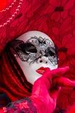 Máscara veneciana del carnaval Imagen de archivo libre de regalías