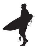 Persona que practica surf Foto de archivo