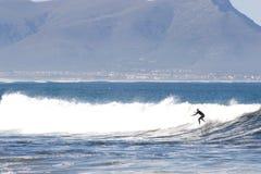 Persona que practica surf #7 Fotografía de archivo
