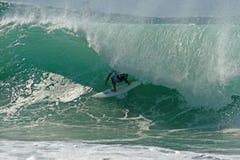 Persona que practica surf 8 imagen de archivo libre de regalías
