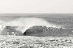 Persona que practica surf de plata Foto de archivo libre de regalías
