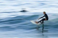 Persona que practica surf pacífica 3 Imágenes de archivo libres de regalías