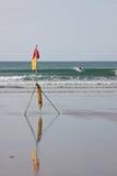 Persona que practica surf segura Foto de archivo