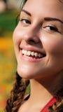 Persona sonriente Imágenes de archivo libres de regalías