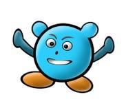Personagem de banda desenhada colorido Fotografia de Stock