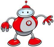 Personagem de banda desenhada da fantasia do robô da lata ilustração royalty free