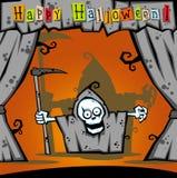Personagem de banda desenhada de Halloween Fotografia de Stock Royalty Free