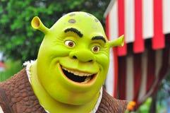 Personagem de banda desenhada de Shrek Imagem de Stock