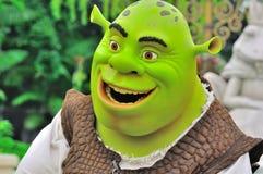 Personagem de banda desenhada de Shrek Foto de Stock