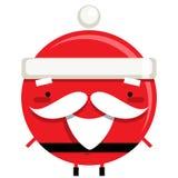 Personagem de banda desenhada de sorriso simples feliz da rena de Santa Claus Fotografia de Stock