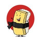 Personagem de banda desenhada de Tamago Imagem de Stock Royalty Free