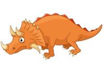Personagem de banda desenhada Dino Imagens de Stock Royalty Free