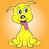 Personagem de banda desenhada do cão de filhote de cachorro Imagem de Stock