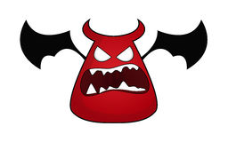 Personagem de banda desenhada do diabo Foto de Stock