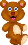 Personagem de banda desenhada do urso Imagem de Stock Royalty Free