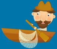 Personagem de banda desenhada - ilustração para as crianças Foto de Stock Royalty Free